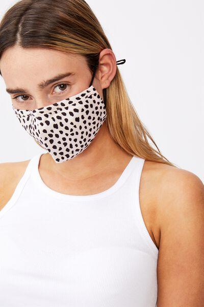 Supre Foundation Face Mask, ERIN PEARL BLACK