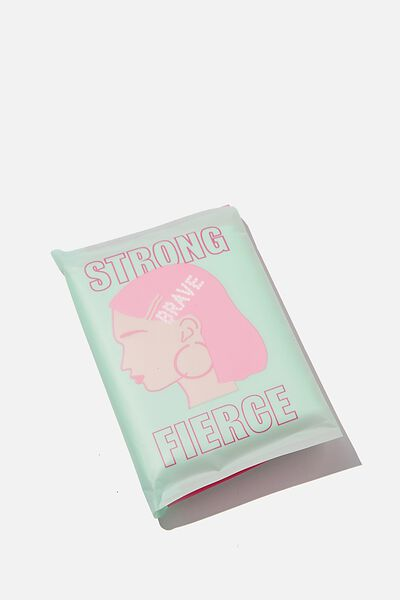 Supre Foundation Tissues, STRONG FIERCE