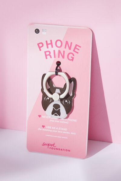 Foundation Novelty Phone Ring, FRENCHIE