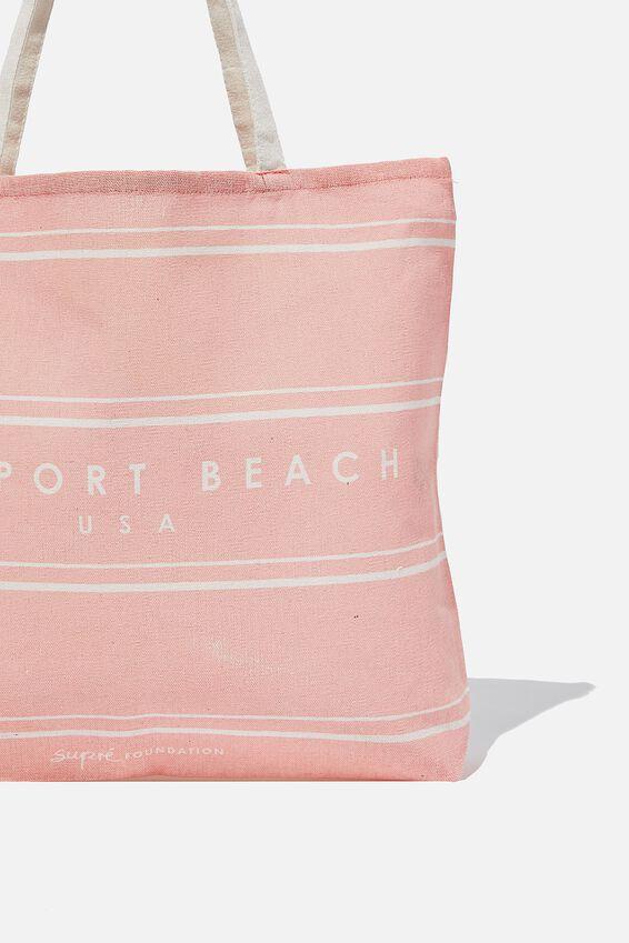 Supre Foundation Tote Bag, NEWPORT BEACH