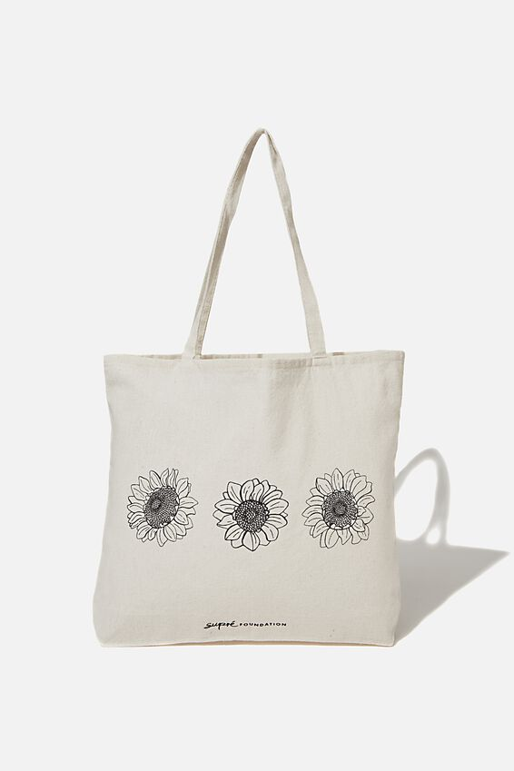 Foundation Supre Tote Bag, SUNFLOWER