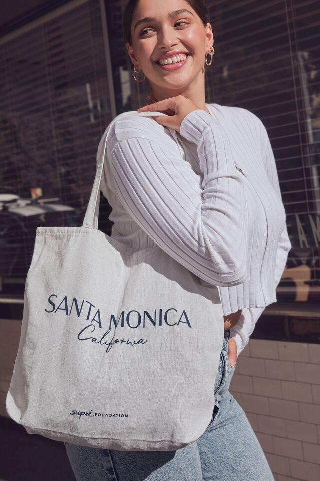 Supre Foundation Tote Bag, SANTA MONICA