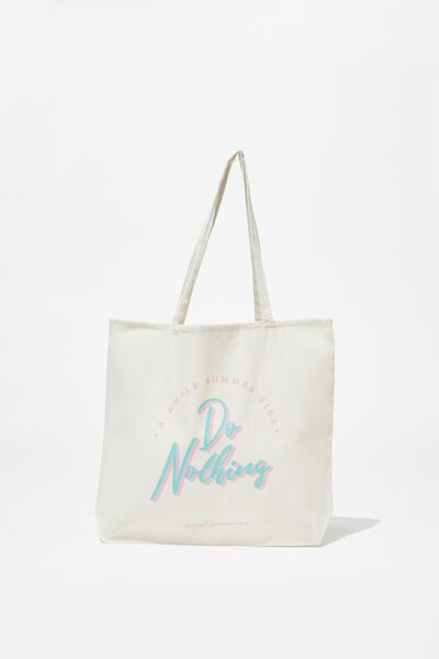 Supre Foundation Tote Bag, DO NOTHING