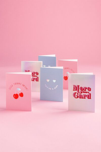 Supre Foundation Christmas Card Set, GOOD THINGS/MORE THAN/GIFT