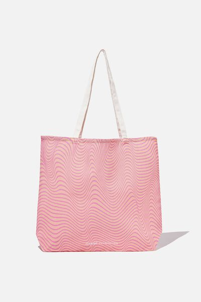 Supre Foundation Tote Bag, NEW WAVE
