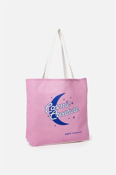 Supre Foundation Tote Bag, COSMIC CREATURE