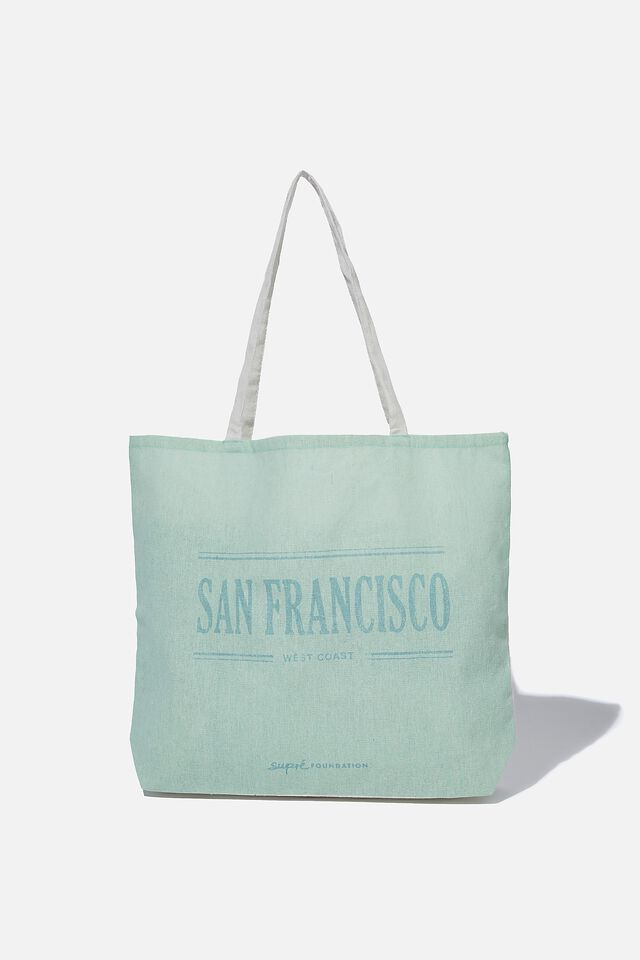 Supre Foundation Tote Bag, SAN FRANCISCO