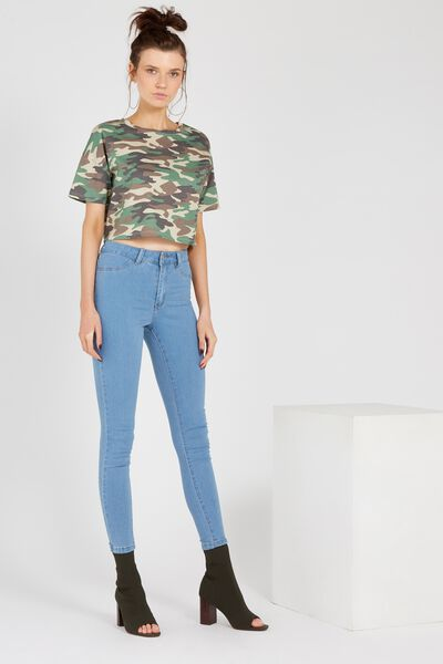 The Skinny Denim Jean, ESSENTIAL BLUE