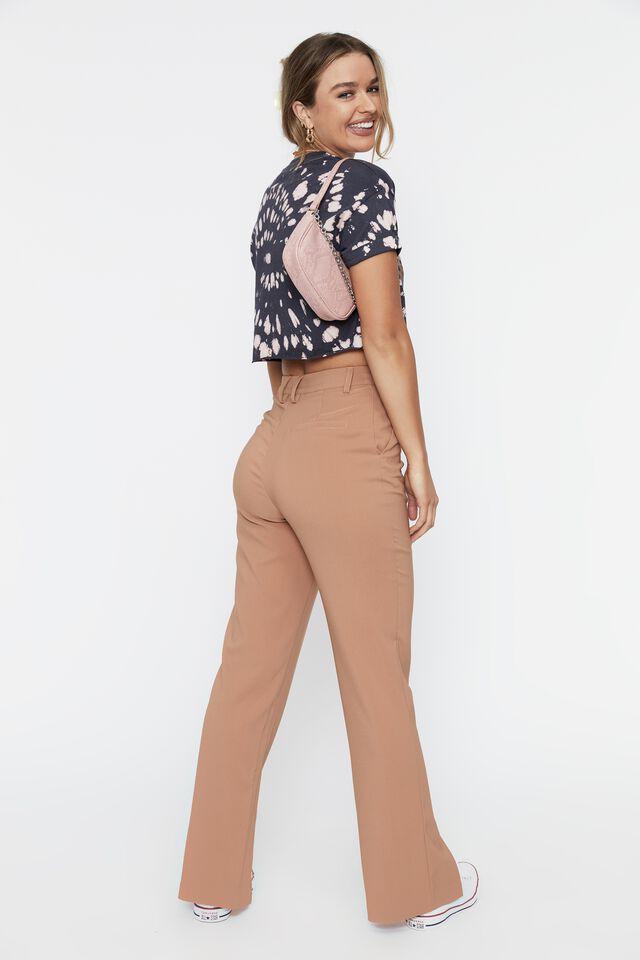 Tamara Printed Crop T Shirt, BLEACH TIE DYE (WSHD NVY/PNK TLP)/SAN FRAN EA