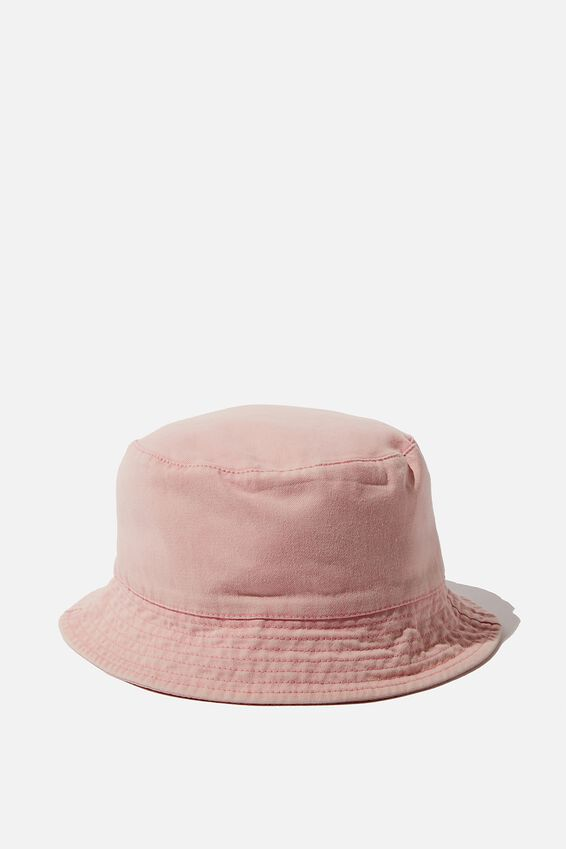Bucket Hat, WASHED PINK