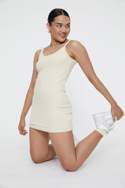 Eloise Scoop Back Cami Dress, SUMMER SAND