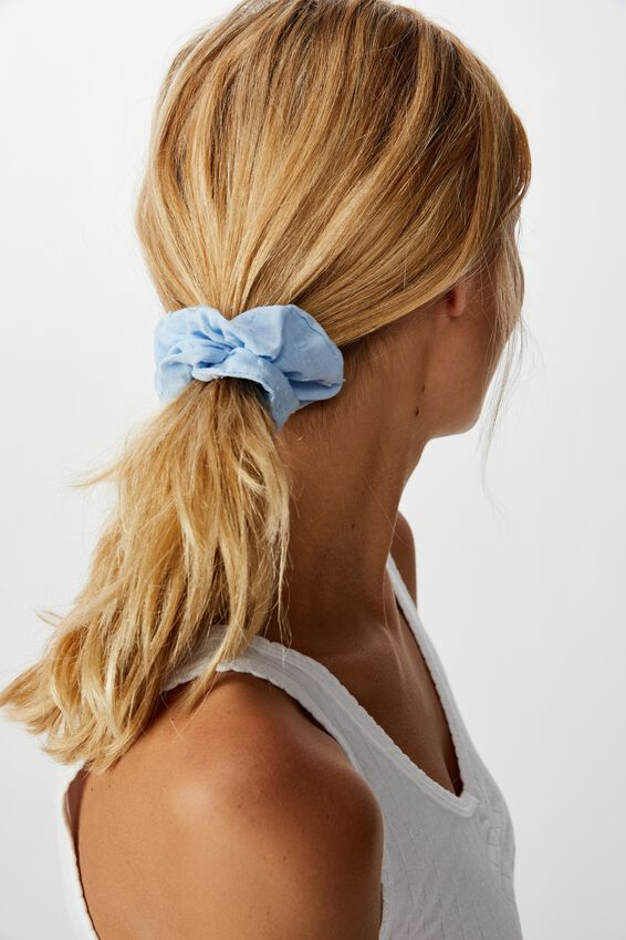 Dobby Scrunchie, BABY BLUE