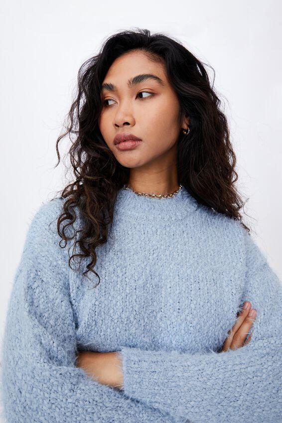 Mia Super Soft Knit, COOL BLUE