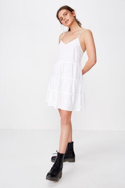 Sunlover Slip Dress, WHITE