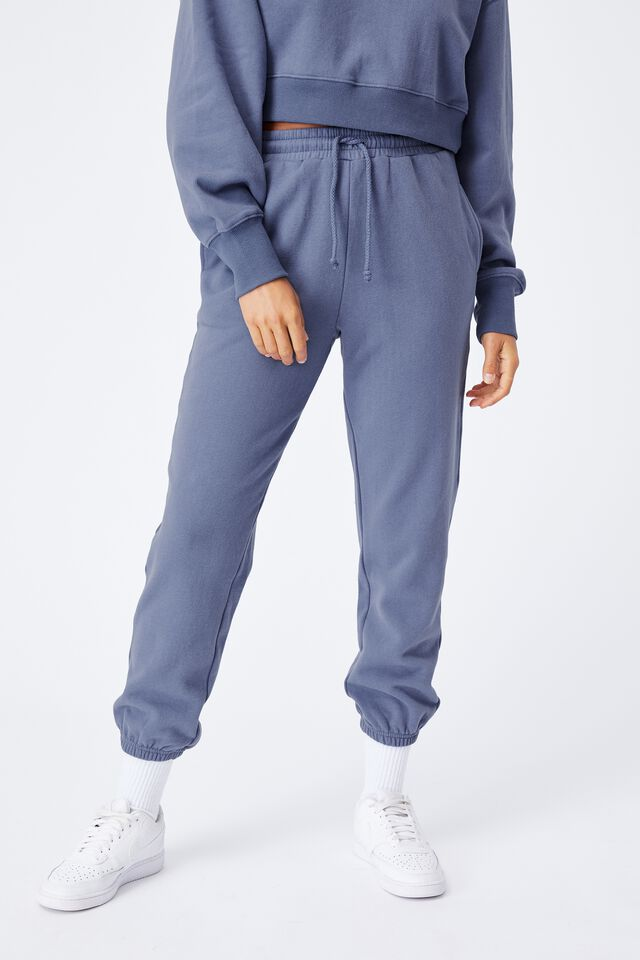 Nia Classic Track Pant, WASHED BLUE
