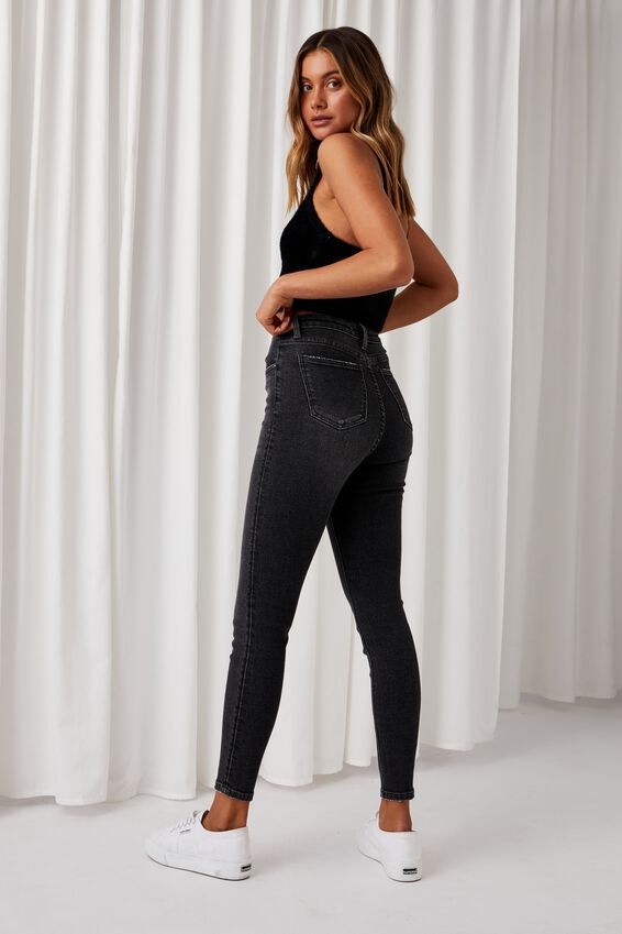 Skinny Premium Jean, VINTAGE BLACK WASH