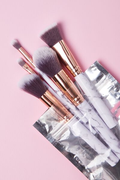 Makeup Brushes, MARBLE