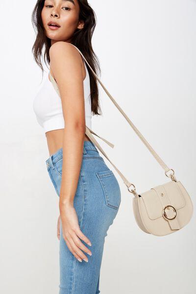 Willow Crossbody Bag, BEIGE