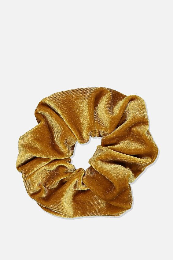 Plush Scrunchie, PLUSH HONEYCOMB