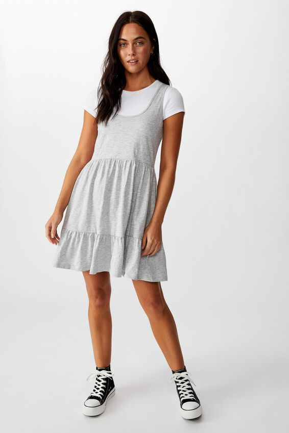Sunny Tank Dress, GREY MARLE