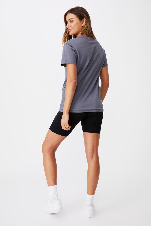Kendall Printed T Shirt, STEEL GREY/LCN PRO METALLICA SNAKES