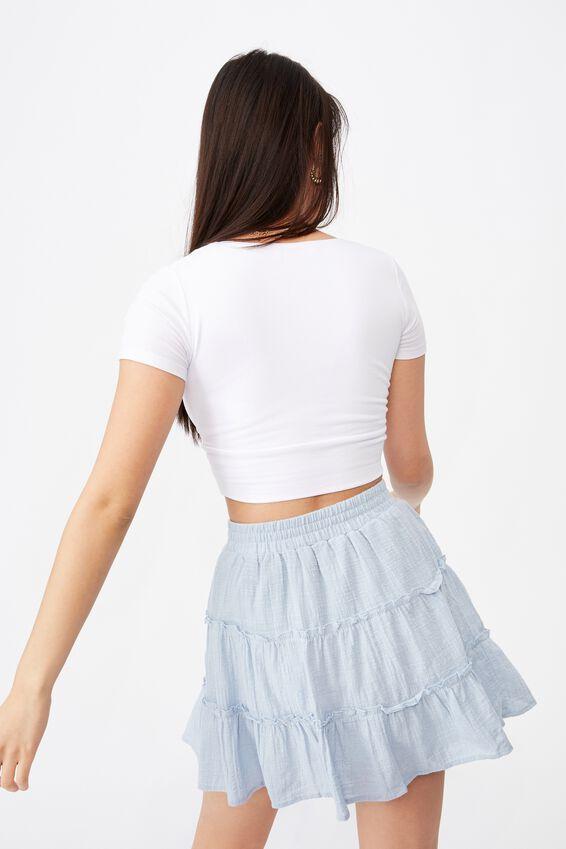 Annie Tiered Skirt, PRINCESS BLUE