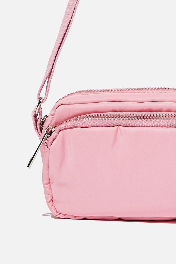 Brenna Small Cross Body Bag, PINK