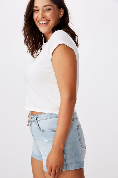 Bondi Denim Short, BABY BLUE