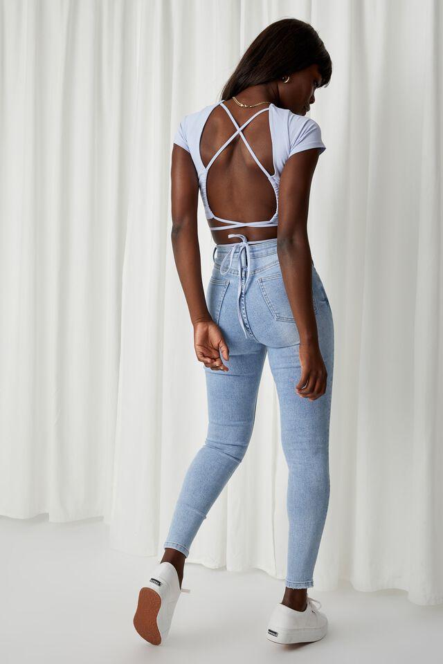 Skinny Premium Jean, SUMMER SKY BLUE