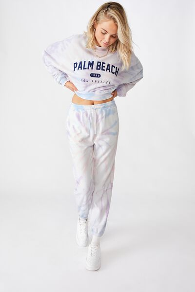 Nia Classic Track Pant, PASTEL TIE DYE