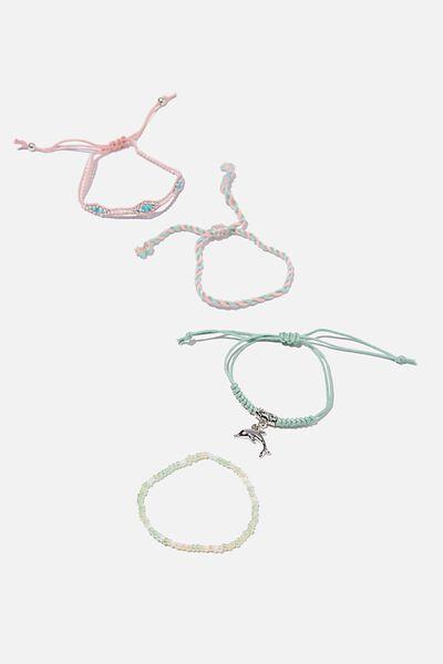 Friendship Bracelets, PASTEL SILVER