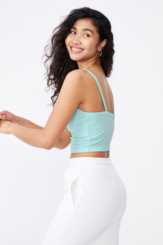 Ruby Ruched Cami, REEF BLUE