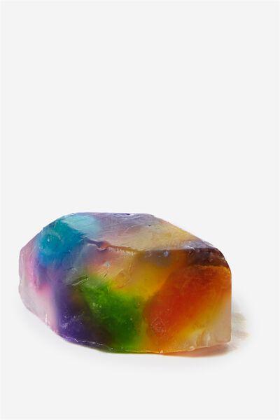 Space Rocks Soap, RAINBOW