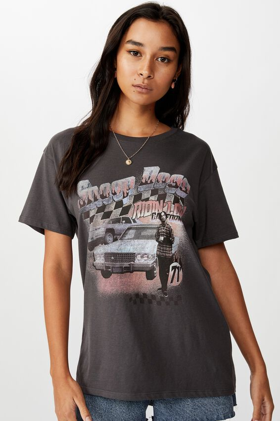 Snoop Dog Tee, GRANITE GREY/LCN MT SNOOP DOG