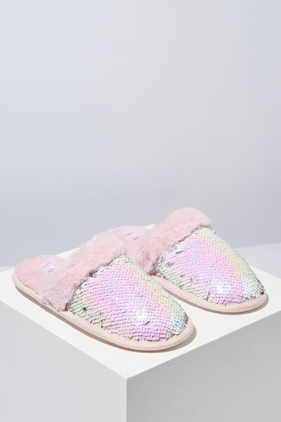 Novelty Slippers, INTERGALACTIC SEQUINS