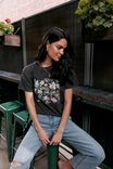 Flowers Tee, PHANTOM/VINTAGE FLOWERS