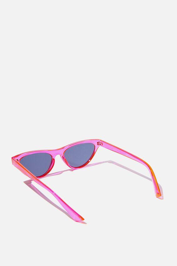 Dakota Cat Eye Sunglasses, PINK/SMK
