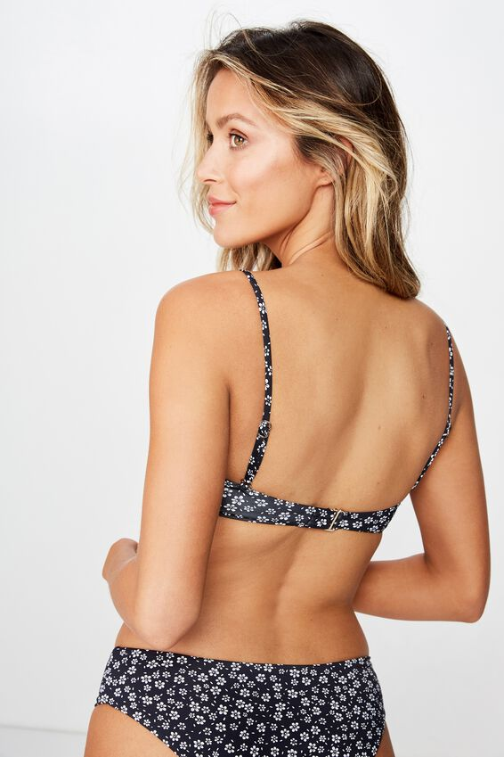 Sorrento Bandeau, WENDY DITSY BLACK
