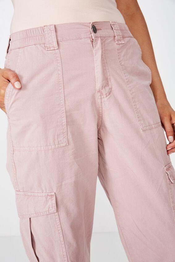 Kendra Cargo Pant, DUSK PINK