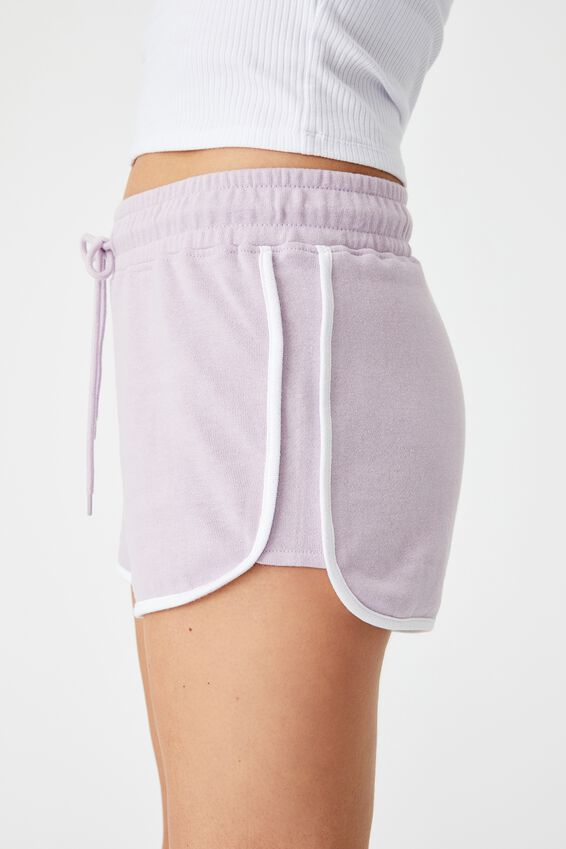 Milly Gym Short, ORCHID ROSE