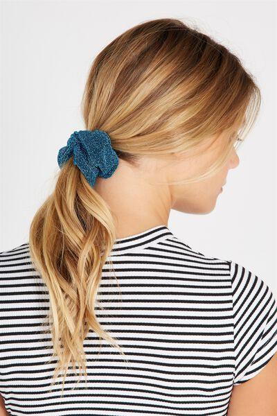 Scrunchie, LUREX BLUE