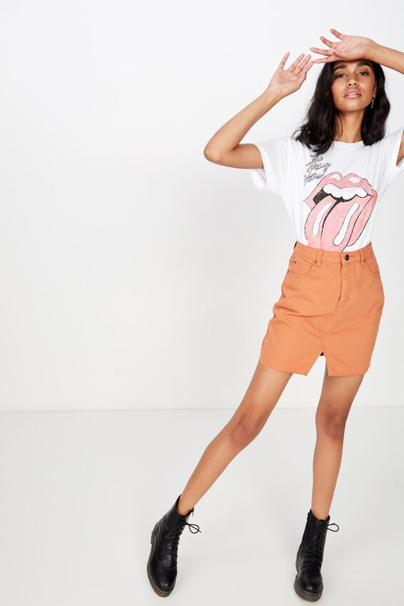 Rolling Stones Tee, WHITE/ROLLING STONE