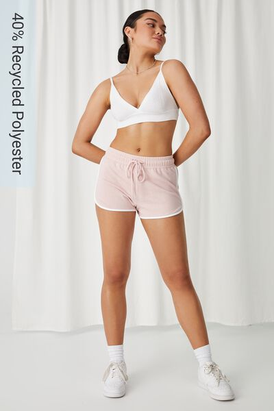 Lilly Gym Short, PINK TULIP