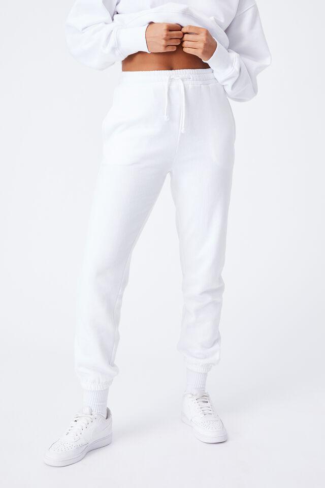 Nia Classic Track Pant, WHITE