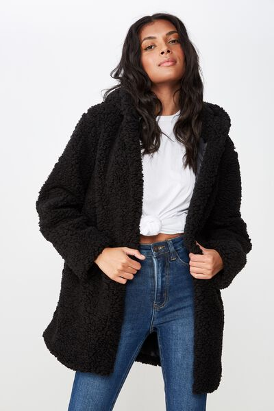 Lulu Jacket, BLACK