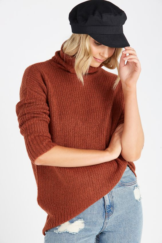 Ruby Cosy Roll Neck Sweater | Tuggl