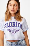Florida Crop Tee, TIE DYE/FLORIDA