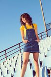 The Denim Pinafore, INDIGO BLUE