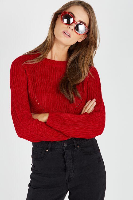 The Harper Knit Top | Tuggl