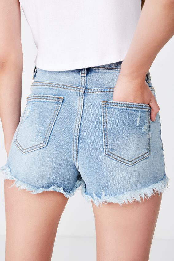 Bondi Denim Short, SEAGRASS BLUE